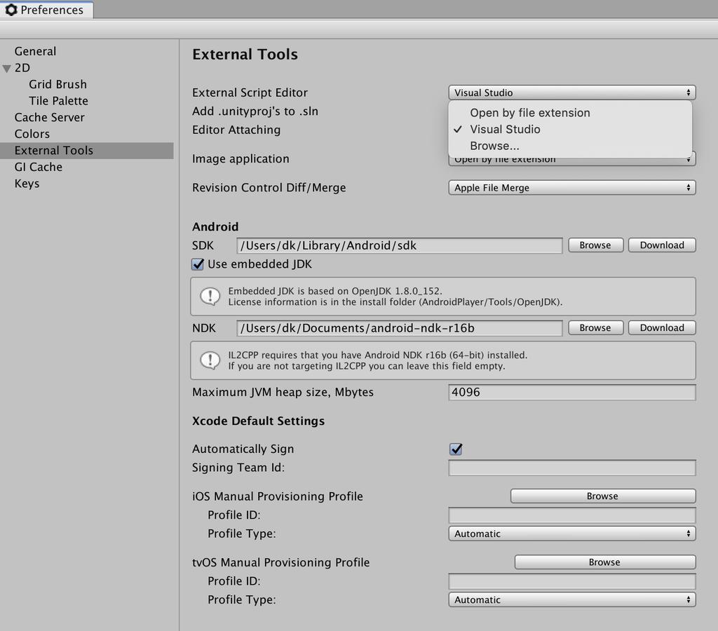 external script editor