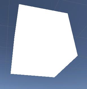 unlit cube
