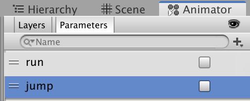 add jump parameters