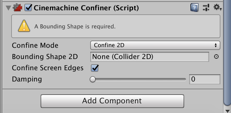 cinemachine confiner