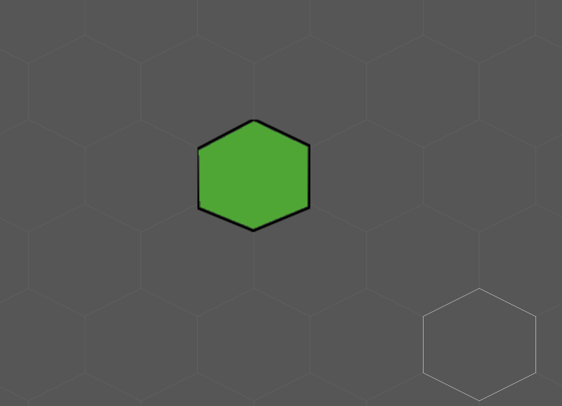 Hexagon tilemap