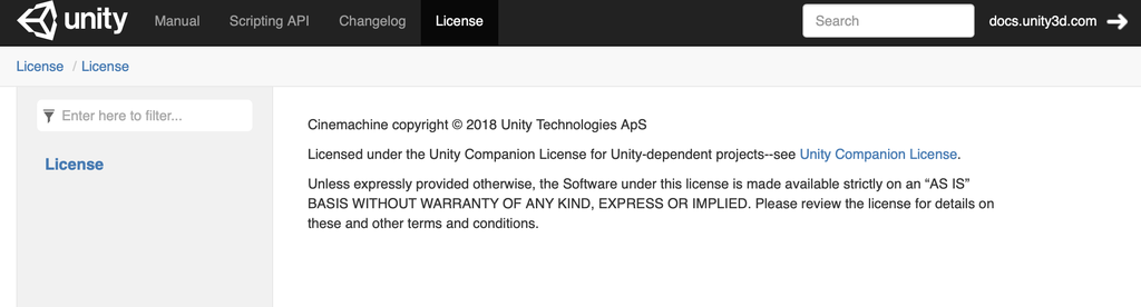 unity license