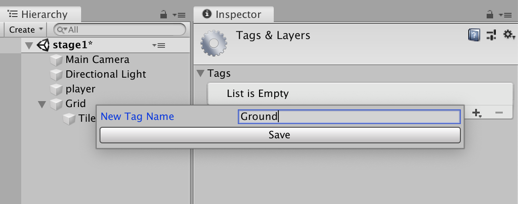 add ground tags