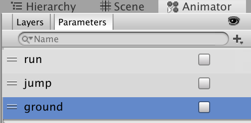 add parameters ground