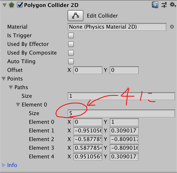 polygon collider 2d element size