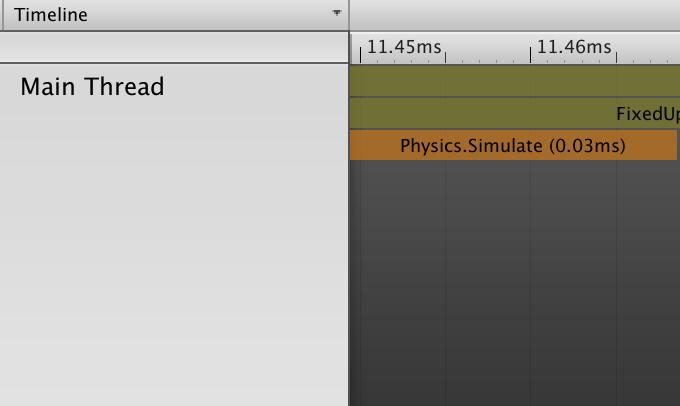 profiler physics simulate
