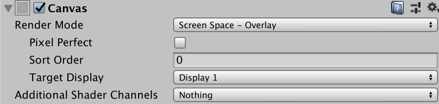 screen space overlay
