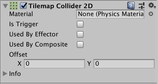 component tile map collider 2d