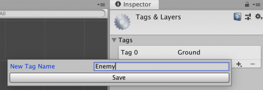 add enemy tag