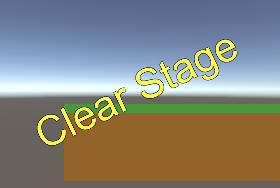 clear stage text