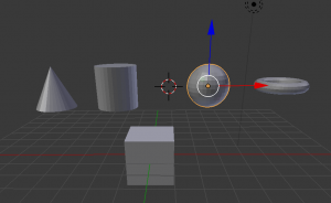 blender any object