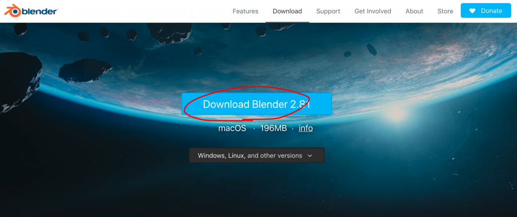download blender 2.8