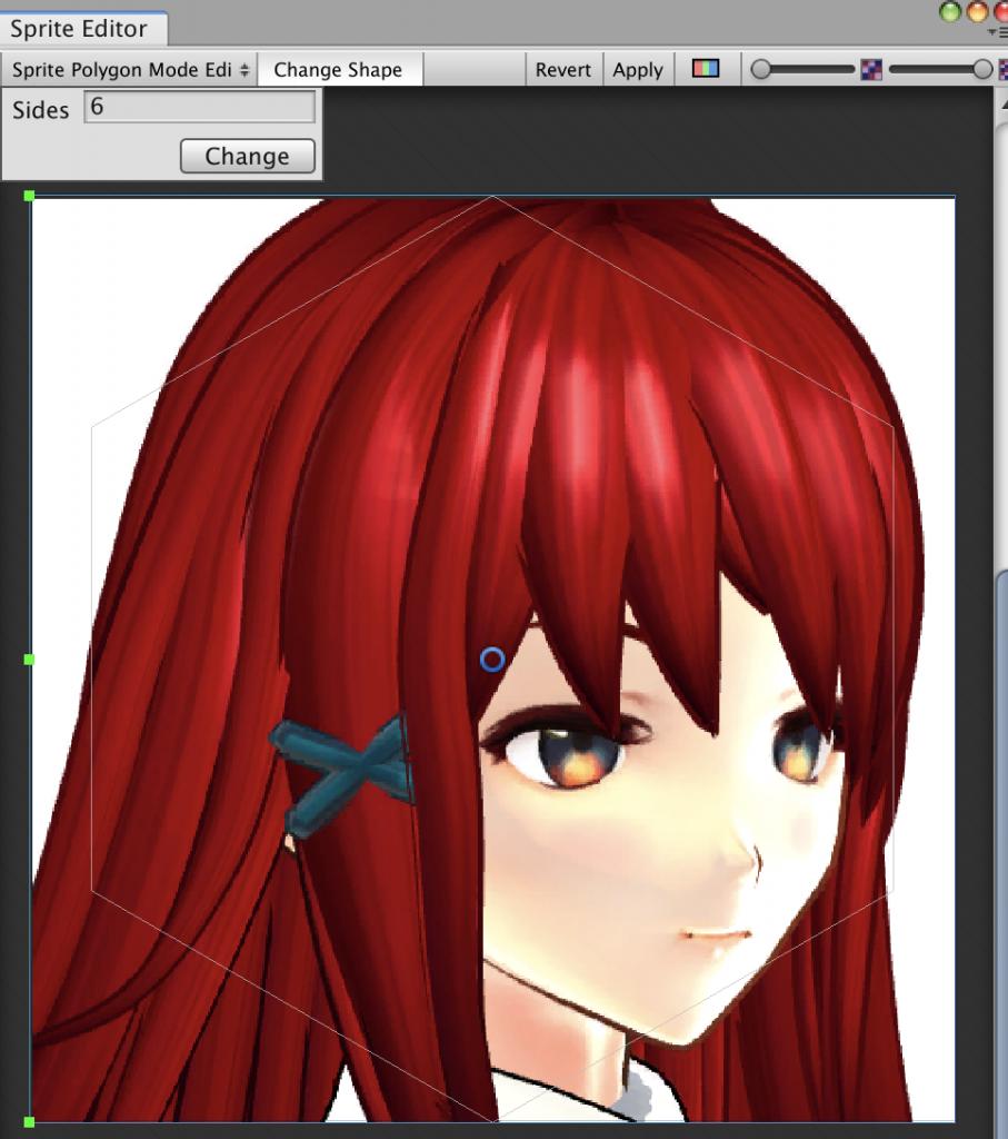 sprite polygon mode editor