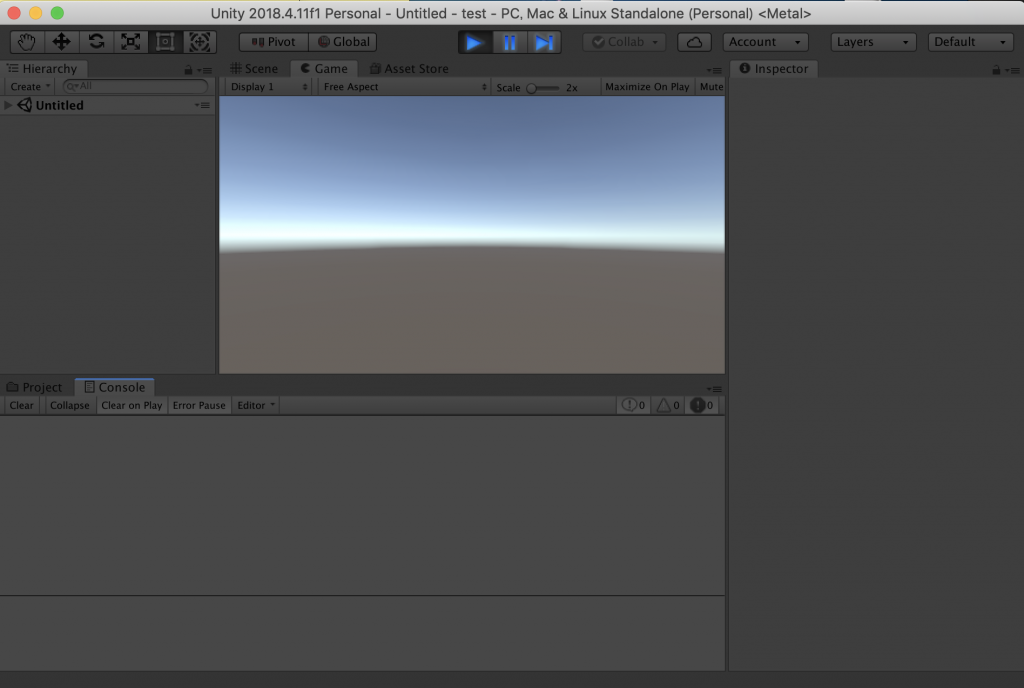 unity editor play mode