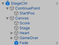 stage controller prefab