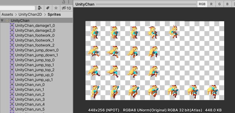 unity chan sprite